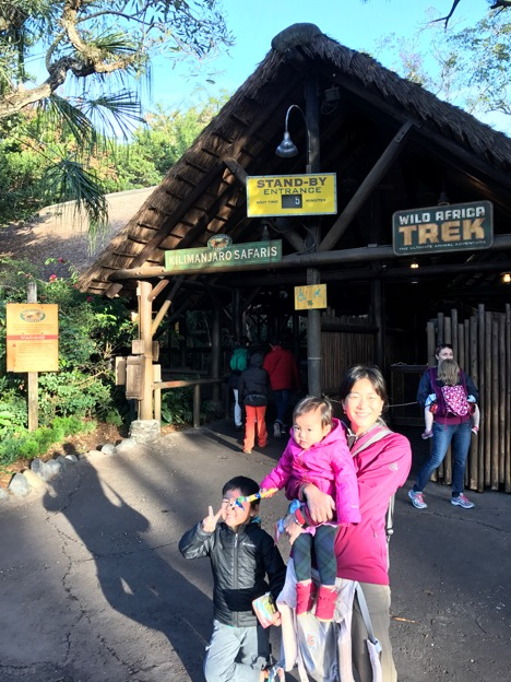 Entrance of Kilimanjaro Safaris at Animal Kingdom