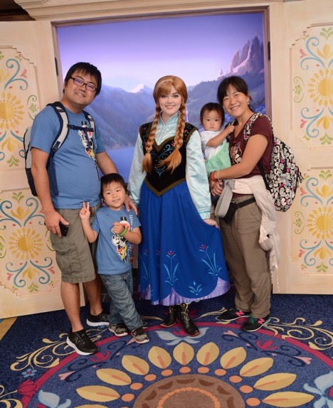 Photo with Anna on Meet Anna and Elsa at Royal Sommerhus