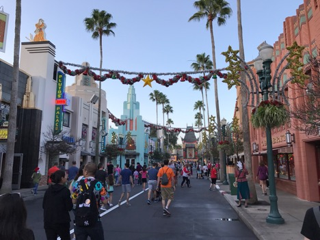Main street of Hollywood Studios in 2016
