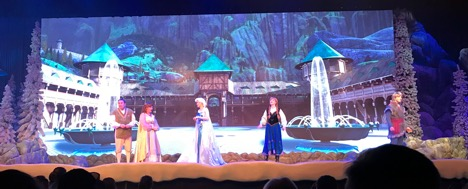 Frozen show at Hollywood Studios