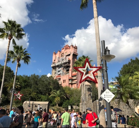 The Twilight Zone Tower of Terror at Hollywood Studios