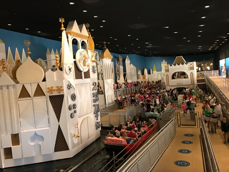 it's a small world at Magic Kingdom 2