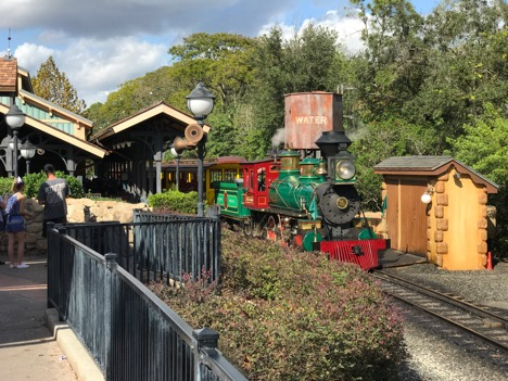 Disney's The Magic Behind Our Steam Trains Tour at Magic Kingdom 1