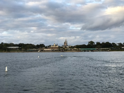 Cinderella Castle on the lake