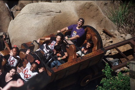 Seven Dwarfs Mine Train at Magic Kingdom