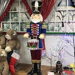 Nutcracker at Christmas Village