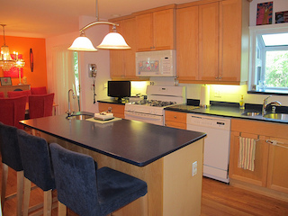kitchen at an USA house