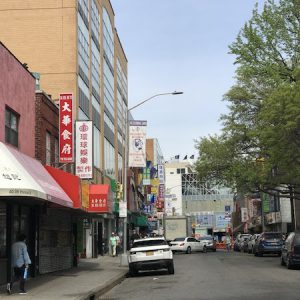 Chinese town at flushing, queens