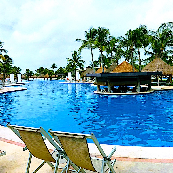 pool at Grand Luxxe, Riviera Maya, Mexico