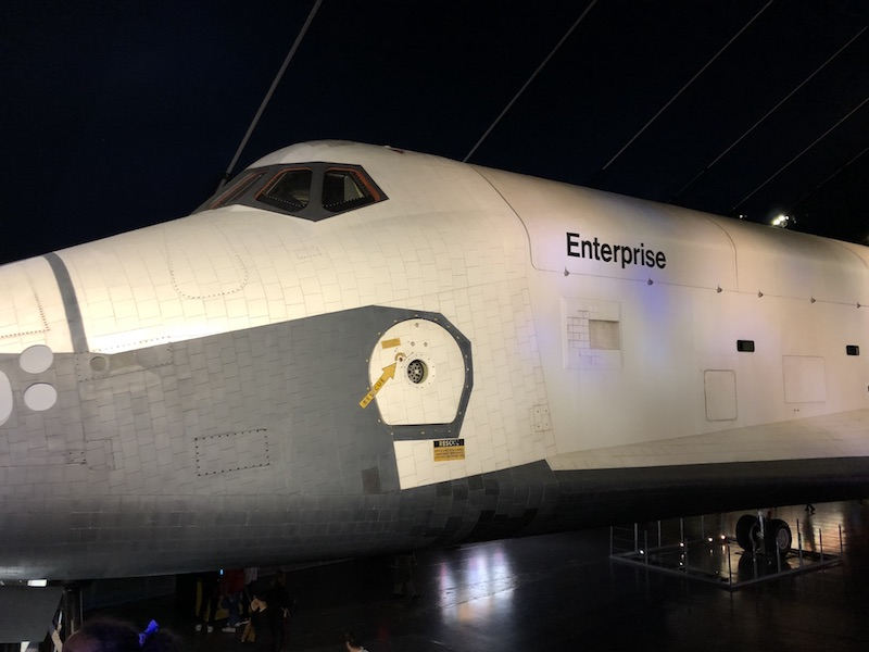 Space Shuttle Enterprise at Intrepid, New York